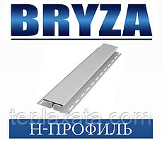 Сайдинг BRYZA Н-профіль білий, 4 метри