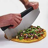 Ніж для нарізки піци з високоякісної нержавіючої сталі Broil King 69805, фото 3
