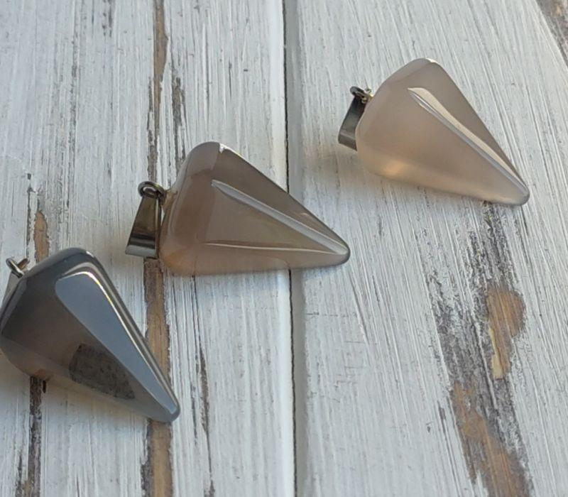 Подвеска-маятник  из агата