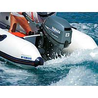 Двигун для човна Yamaha F8 FMHL - підвісний двигун для яхт і рибальських човнів, фото 3