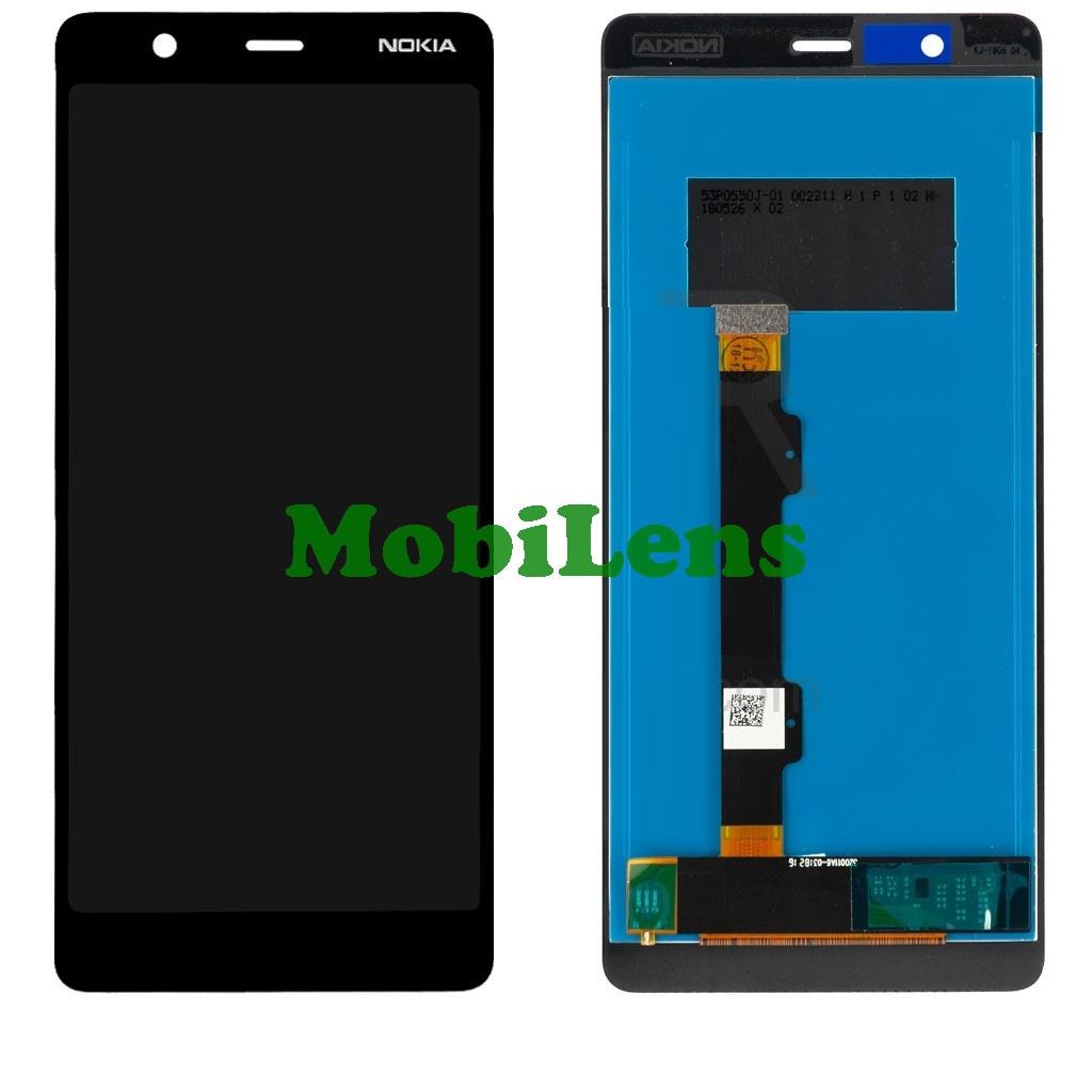 Nokia 5.1, TA-1075 Дисплей+тачскрін(модуль) чорний HighCopy