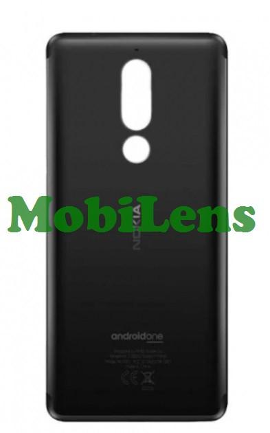 Nokia 5.1, TA-1075 Задняя крышка черная