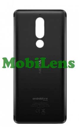 Nokia 5.1, TA-1075 Задняя крышка черная, фото 2