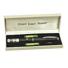 Зеленая лазерная указка BOB Laser BGP-3010-1 (532nm, 50mW, 2xAAA) + калейдоскоп