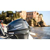 Двигун для човна Yamaha F8 FMHL - підвісний двигун для яхт і рибальських човнів, фото 4