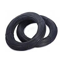 Дріт вязальний чорна 0.8 мм (100 м)