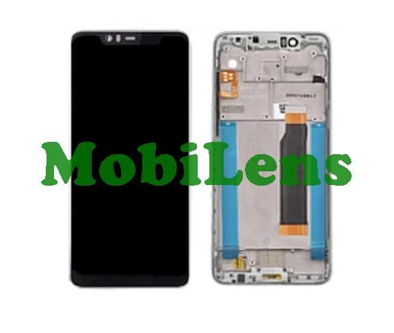 Nokia 5.1 Plus, TA-1105, TA-1109 Дисплей+тачскрін(модуль) білий *в рамці Original *PRC