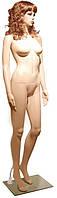 Mery-7skin Манекен женский телесный пластиковый с париком