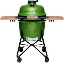 Керамический гриль печь с двумя боковыми полками из бамбука с гнездо в зеленом цвете BergHOFF Studio (2415701)