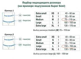 Как правильно подобрать размер одноразовых подгузников для взрослых