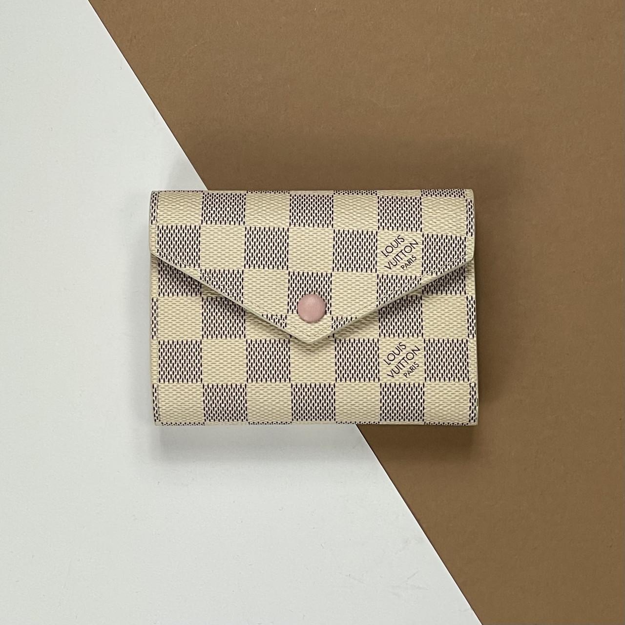 Кошелек Louis Vuitton Victorine Damier Azur (Луи Виттон) арт. 22-19