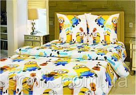Комплект постельного белья Миньйоны