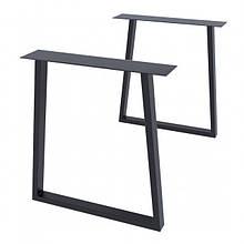 Опора для столу GoodsMetall в стилі Лофт 730х650мм Шанкар