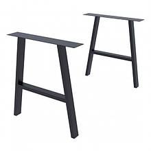 Опора для столу GoodsMetall в стилі Лофт 720х650мм Андеграунд