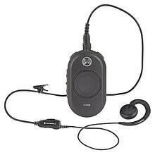 Рація Motorola CLP446 (0.5 W, PMR446, 446 MHz, до 5 км, 8 каналів, АКБ), чорна