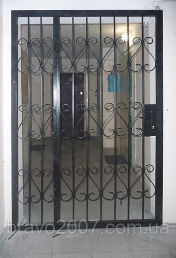 Техническая дверь-решётка (услуга)