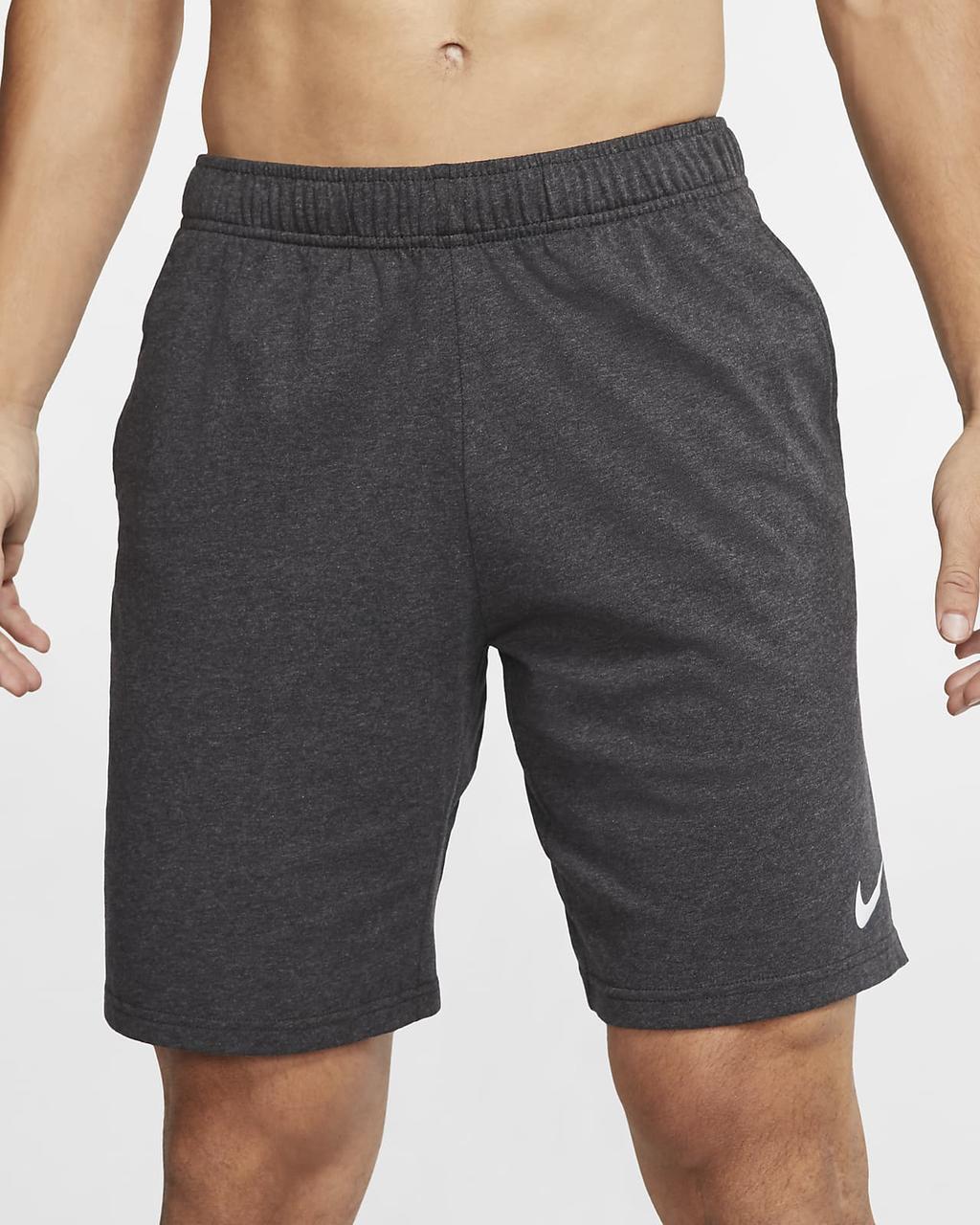 Шорти чоловічі Nike M Nk Dry Fit Cotton 2.0 сірі (CJ2044-032)
