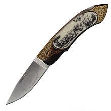 Нож складной GIGAND FC-9788A Носорог (длина: 18.0см, лезвие: 7.7см)