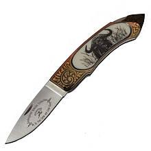 Нож складной GIGAND FC-9788H Буйвол (длина: 18.0см, лезвие: 7.7см)