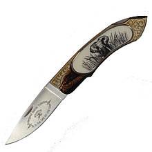 Нож складной GIGAND FC-9788В Слон (длина: 18.0см, лезвие: 7.7см)