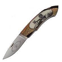 Нож складной GIGAND FC-9788С Лев (длина: 18.0см, лезвие: 7.7см)