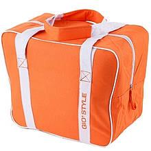 Термосумка GIOSTYLE Evo medium (21л), оранжевая