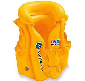Intex Жилет 58660 Жовтий 49*46 см від 3 до 6 років