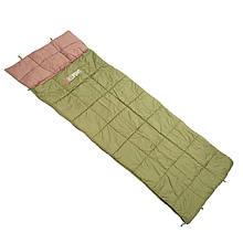 Спальный мешок-одеяло Red Poin Manta left (220х85см), олива
