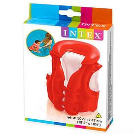 Intex Жилет 58671 Люкс 50*47 см від 3 до 6 років