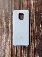 "Чохол Silicon Xiaomi Redmi Note 9 pro - ""Кремово-ліловий №5"""