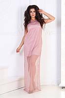 Женское стильное длинное платье, фото 1