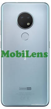 Nokia 6.2, TA-1187, TA-1198, TA-1200, TA-1201 Задня кришка срібляста, фото 2