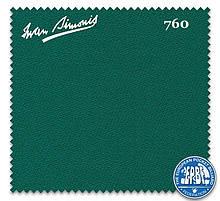 Сукно зеленого цвета Iwan Simonis 760 для бильярдных столов
