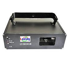 Лазерна установка LV380RGB (RGB, 230mW, DMX512-9ch)