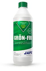 Средство для удаления мха, лишайника, водорослей Grön-Fri (Швеция) 1 л на 25 кв.м. КОНЦЕНТРАТ! 1:4