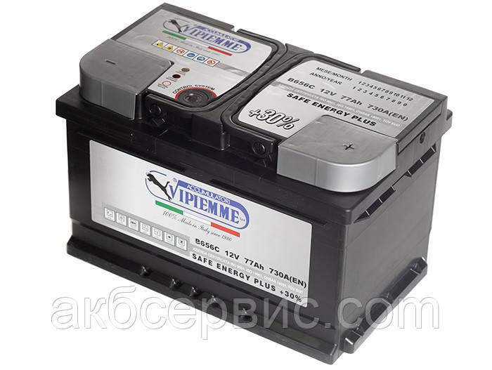 Аккумулятор автомобильный Vipiemme 6СТ-77 АзЕ Safe Energy Plus
