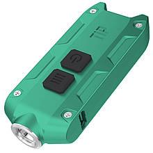 Ліхтар наключный Nitecore TIP (Cree XP-G2, 360 люмен, 4 режиму, USB), зелений