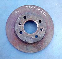 Тормозной диск передний не вентилируемый 7701 204 282 Renault megane, 19, logan, clio