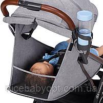 Прогулочная коляска Kinderkraft Nubi Grey, фото 8