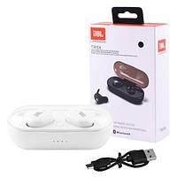 Бездротові Bluetooth-навушники JBL TWS 4 шумозаглушення, IPX6 QualityReplica