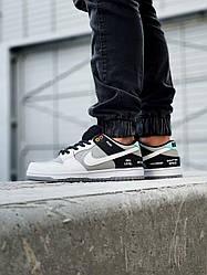 Мужские кроссовки Nike SB Dunk Low ProISO VX1000 CAMCORDER (белые с серым) J3294 стильные молодежный кроссы