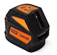 Нивелир лазерный уровень построитель плоскостей Vega CROSS = RGK PR-110