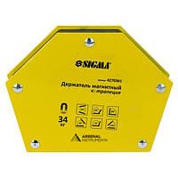 Магніт для зварювання трапеція [34 кг] SIGMA 4270361