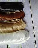 Волосы для кукол короткие черные 3.5см, фото 2