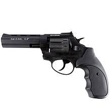 """Револьвер під патрон Флобера Stalker (4.5"""", 4.0 mm), ворон-чорний"""