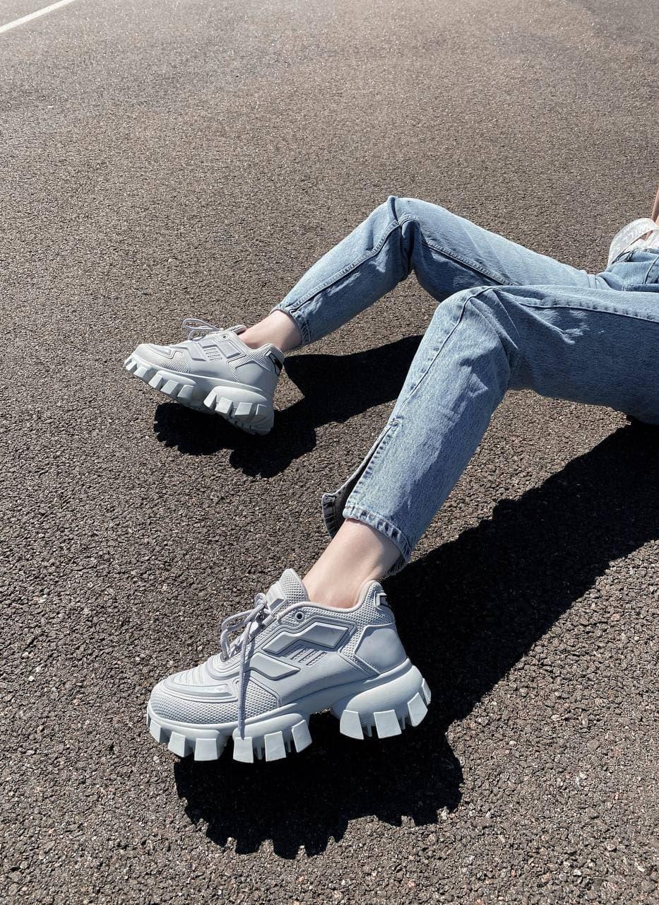 Жіночі кросівки Prada CoudBust (white), жіночі кросівки Прада
