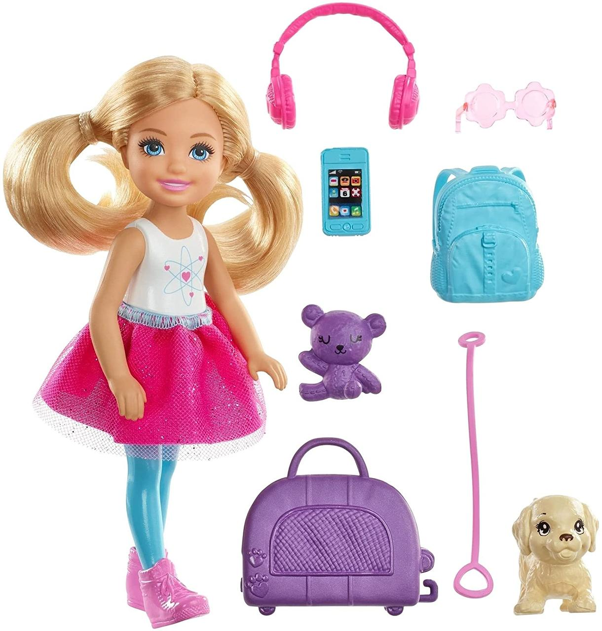 Кукла Барби Челси Путешественница
