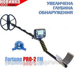 Металлоискатель Fortune PRO-2 / Фортуна ПРО-2 FM Корпус GR2018  гарантия 12 месяцев