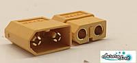 Силовой разъем для дрона/ 3D принтера / скутера / электро самоката / велосипеда 2-х контактный 60А комплект., фото 1