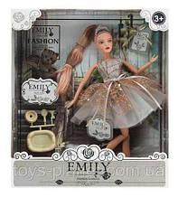 """Кукла """"Emily"""" QJ090B с аксессуарами, р-р куклы - 29 см, в кор.28.5*6.5*32.5 см"""